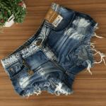 Shorts jeans no atacado a R$ 10 Reais